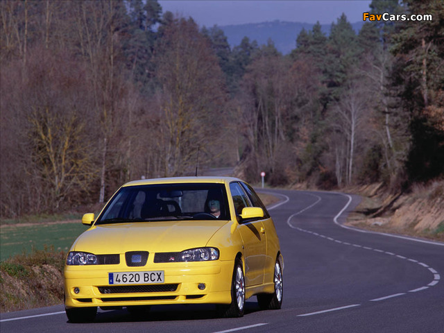 Seat Ibiza Cupra R 2001 photos (640 x 480)