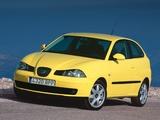 Seat Ibiza 3-door 2002–06 images