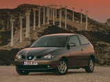 Seat Ibiza 3-door 2002–06 images