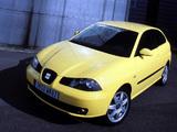 Seat Ibiza 3-door 2002–06 pictures