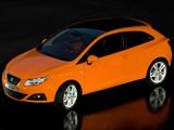 Seat Ibiza SC UK-spec 2008–12 images