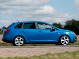 Seat Ibiza ST UK-spec 2010–12 images
