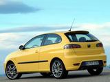 Seat Ibiza Cupra TDI 2004–08 wallpapers