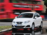Seat Ibiza SC Ecomotive UK-spec 2008–12 wallpapers