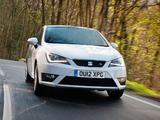 Seat Ibiza SC FR UK-spec 2012 wallpapers