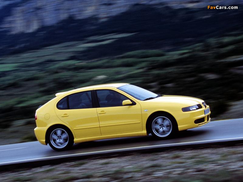 Images of Seat Leon Cupra 2001–05 (800 x 600)