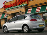 Images of Seat Leon UK-spec 2005–09