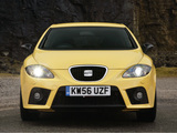 Images of Seat Leon Cupra UK-spec 2007–09