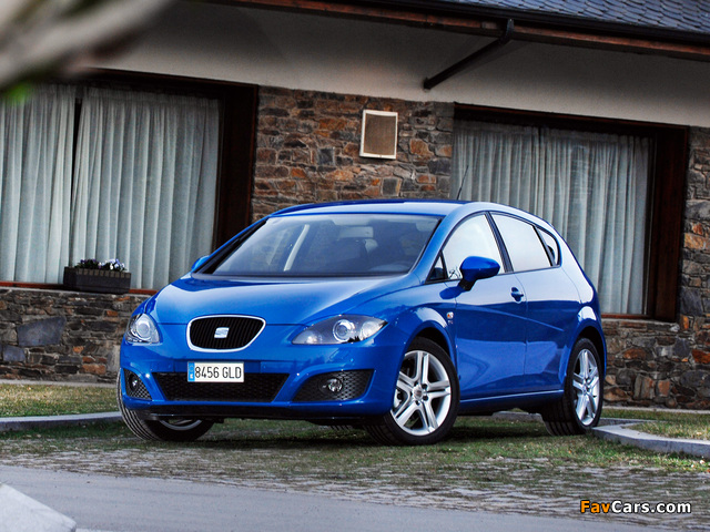 Images of Seat Leon 2009–12 (640 x 480)