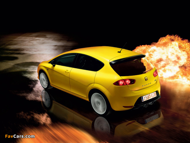 Images of Seat Leon Cupra R UK-spec 2009–12 (640 x 480)