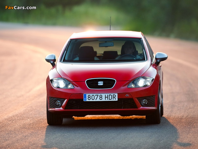 Images of Seat Leon FR 2009–12 (640 x 480)