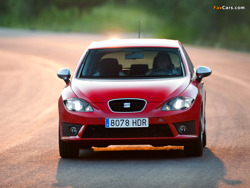 Images of Seat Leon FR 2009–12 (800 x 600)