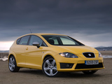 Images of Seat Leon FR UK-spec 2009–12