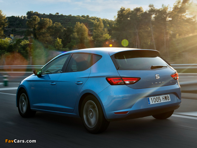 Images of Seat Leon Ecomotive 2013 (640 x 480)
