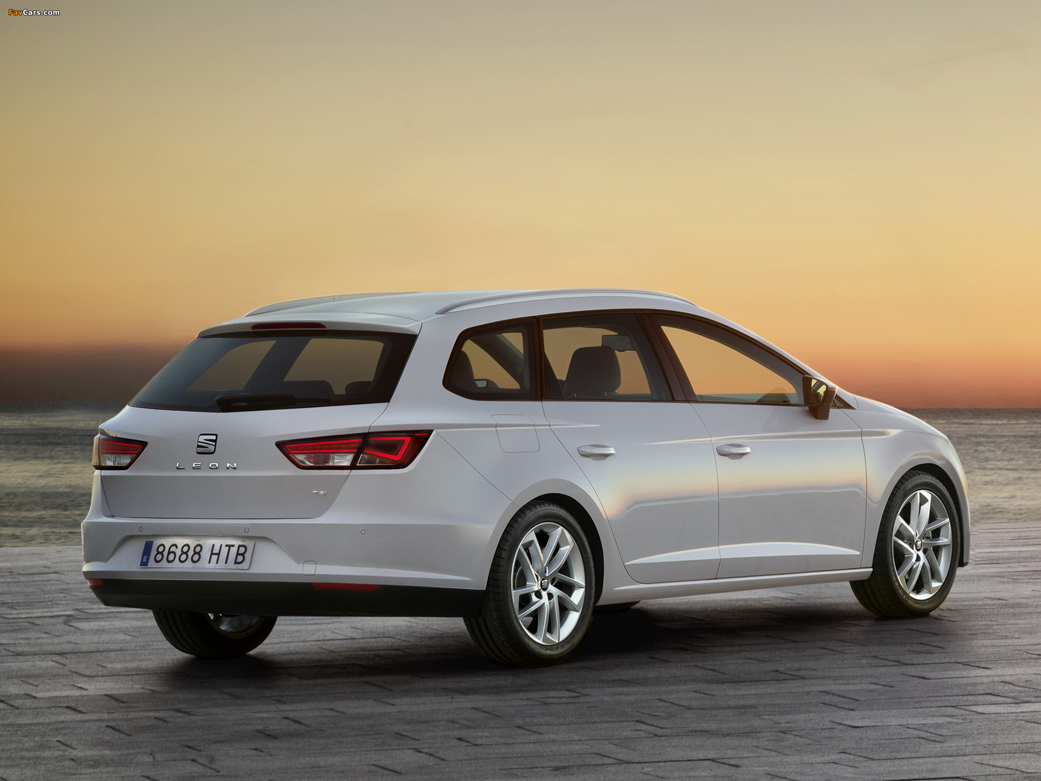 Images of Seat Leon ST 2013 (2048 x 1536)