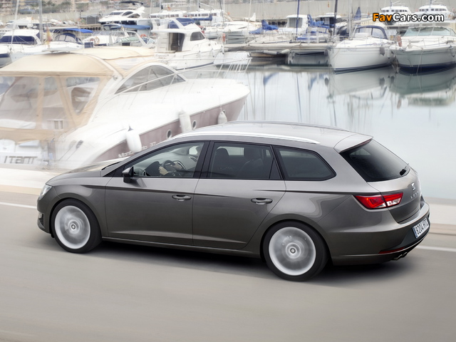 Images of Seat Leon ST FR 2013 (640 x 480)