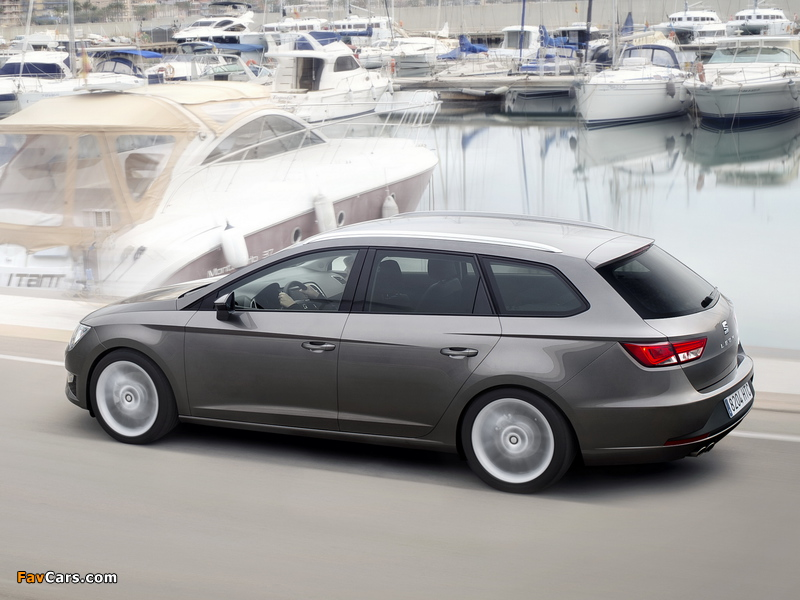 Images of Seat Leon ST FR 2013 (800 x 600)
