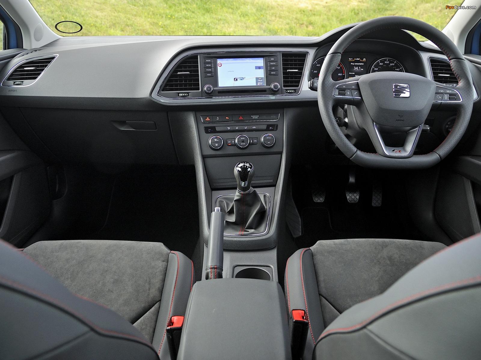 Images of Seat Leon SC FR UK-spec 2013 (1600 x 1200)