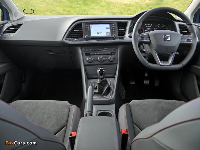 Images of Seat Leon SC FR UK-spec 2013 (640 x 480)