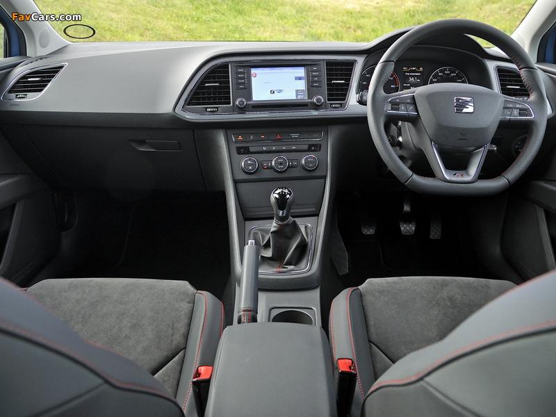 Images of Seat Leon SC FR UK-spec 2013 (800 x 600)