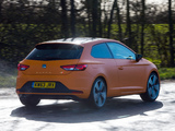 Images of Seat Leon SC Cupra UK-spec 2014
