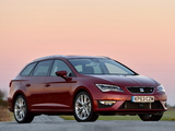 Images of Seat Leon ST FR UK-spec 2014
