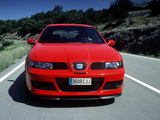 Photos of Seat Leon Cupra R 2002–05