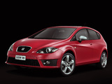 Photos of Seat Leon FR 2009–12