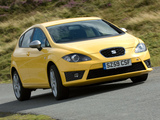 Photos of Seat Leon FR UK-spec 2009–12
