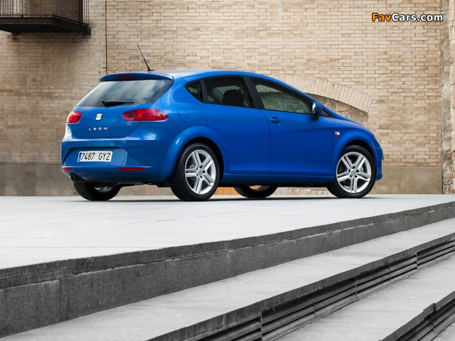 Photos of Seat Leon 2009–12 (640 x 480)