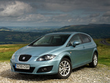 Photos of Seat Leon UK-spec 2009–12