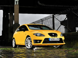 Photos of Seat Leon Cupra R UK-spec 2009–12