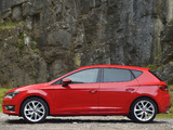 Photos of Seat Leon FR UK-spec 2013