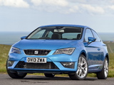 Photos of Seat Leon SC FR UK-spec 2013
