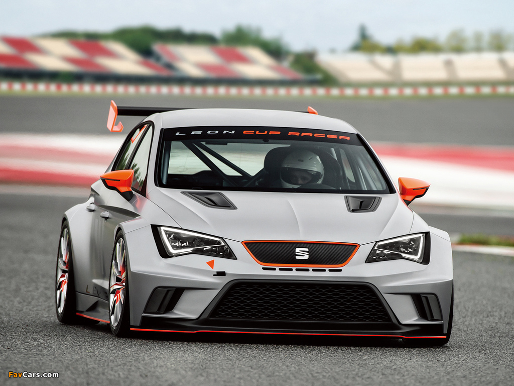 Photos of Seat Leon Cup Racer 2013 (1024 x 768)