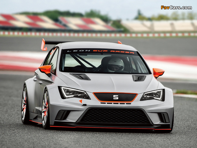 Photos of Seat Leon Cup Racer 2013 (640 x 480)