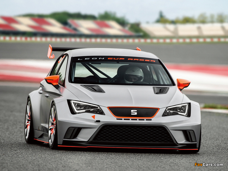 Photos of Seat Leon Cup Racer 2013 (800 x 600)