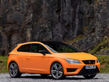 Photos of Seat Leon SC Cupra UK-spec 2014