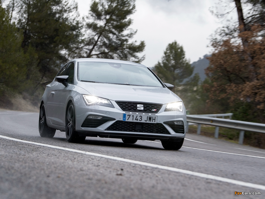 Photos of Seat León SC Cupra 300 (5F) 2017 (1024 x 768)