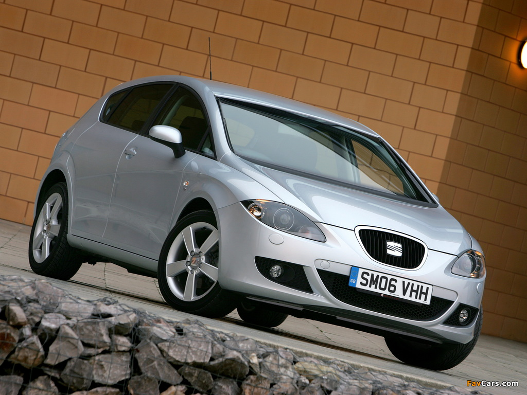 Pictures of Seat Leon UK-spec 2005–09 (1024 x 768)