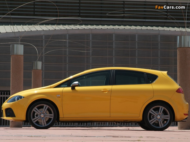 Pictures of Seat Leon FR 2006–09 (640 x 480)