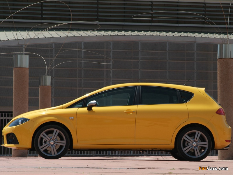 Pictures of Seat Leon FR 2006–09 (800 x 600)