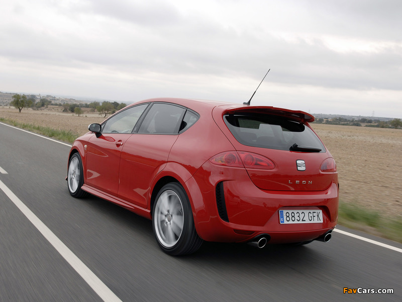 Pictures of Seat Leon Linea R 2008–09 (800 x 600)