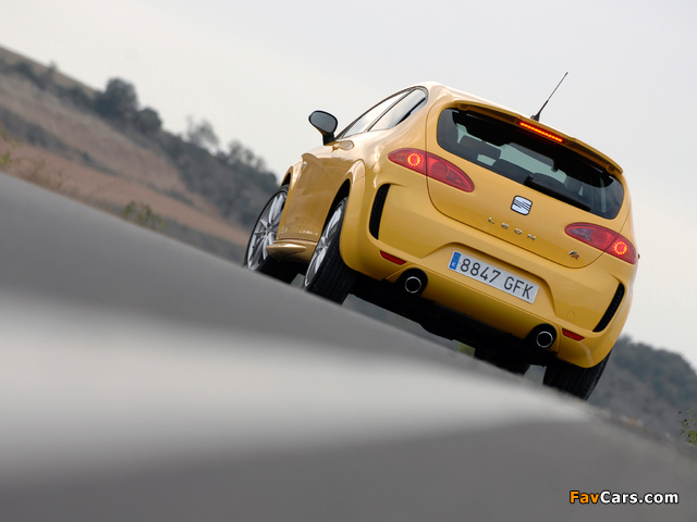 Pictures of Seat Leon Linea R 2008–09 (640 x 480)