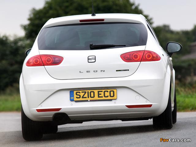 Pictures of Seat Leon Ecomotive UK-spec 2009–12 (640 x 480)