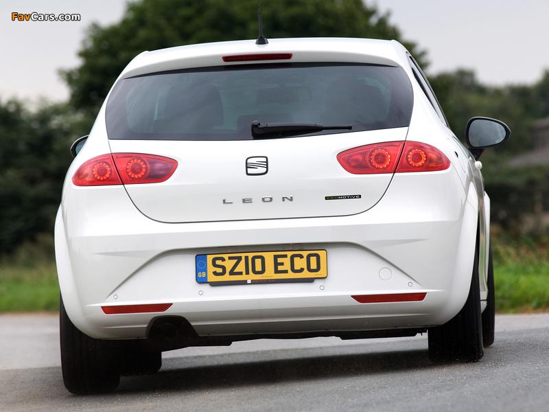 Pictures of Seat Leon Ecomotive UK-spec 2009–12 (800 x 600)