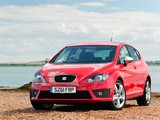 Pictures of Seat Leon FR UK-spec 2009–12