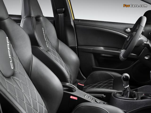 Pictures of Seat Leon Cupra 2009–11 (640 x 480)