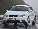 Pictures of Seat Leon UK-spec 2013