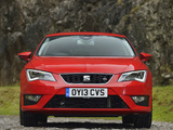 Pictures of Seat Leon FR UK-spec 2013